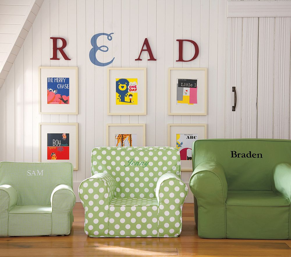 It's the Pottery Barn Kids Green Dot Hybrid Anywhere Chair ($119-$149).