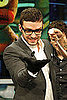 Pictures of Justin Timberlake, Andrew Garfield, and Jesse Eisenberg Promoting The Social Network in Spain and London 2010-10-07 10:46:00