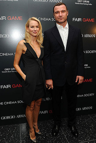 Pictures of Naomi Watts and Liev Schreiber at the Fair Game Screening in NYC 2010-10-07 14:00:00