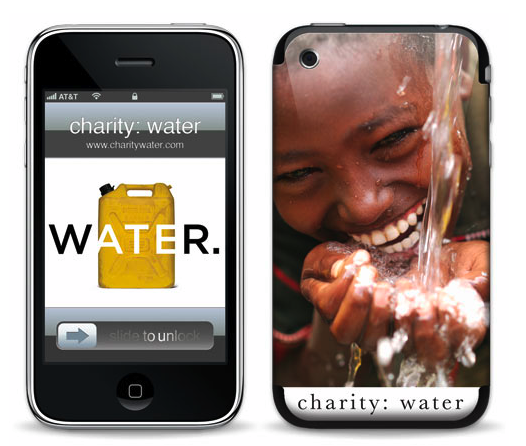 Photos of Charity:Water Gelaskins
