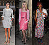 Celebrities at Paris Fashion Week Including Alexa Chung, Dakota Fanning, Rihanna