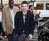 Slide Picture of Justin Timberlake Arriving at a Promotional Event in London