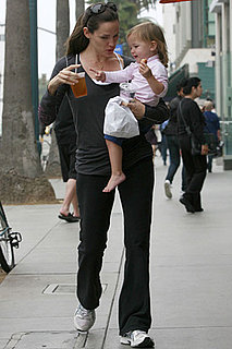 Pictures of Jennifer Garner and Seraphina Affleck