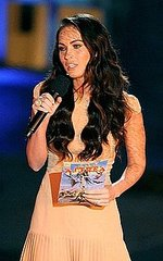 Megan Fox at Spike TV's Scream 2010 Awards in Los Angeles, California on Saturday night (October 16).