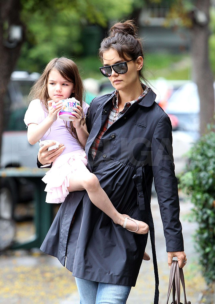 Pictures of Katie and Suri at Ballet