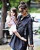 Pictures of Katie Holmes and Suri Cruise Eating Ice Cream in LA