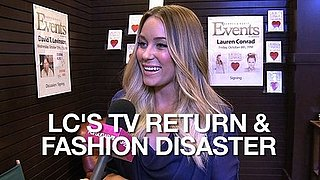 Video of Lauren Conrad at LA Book Signing Talking About Fashion Disasters and Returning to Reality TV 2010-10-11 12:30:00