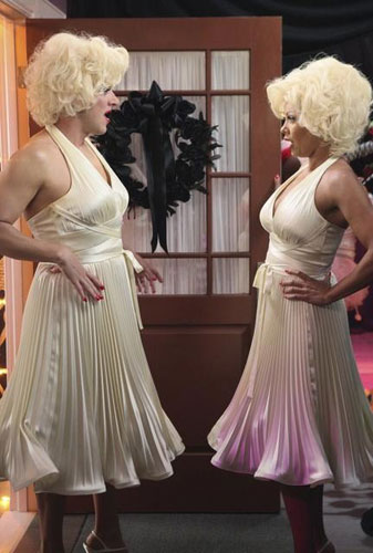 Lee <i>and</i> Renee as Marilyn Monroe