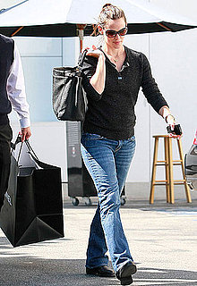 Pictures of Jennifer Garner Shopping at Chanel