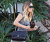 Slide Picture of Lauren Conrad Arriving at Chelsea Lately Studios in LA
