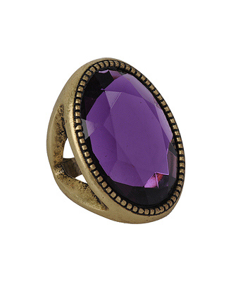 Forever 21 Grandiose Jewel Ring ($4)