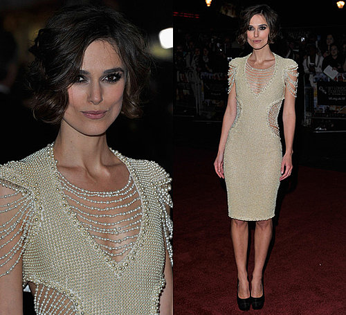 Photos of Keira Knightley in Chanel at the Never Let Me Go London Premiere