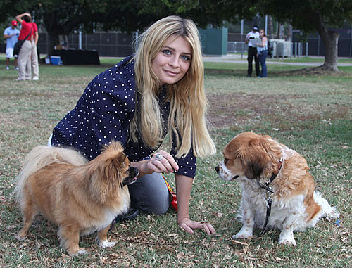 Pictures of Mischa Barton and Dogs at the Pup-Peroni LA Event
