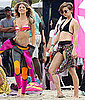 Pictures of AnnaLynne McCord, Jessica Stroup, Jessica Lowndes, Shenae Grimes in Bikinis on the Set of 90210