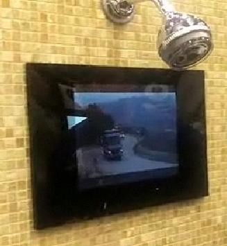 MB Quart In-Shower HDTV ($1800)