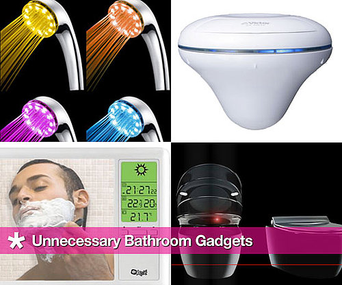 High-Tech Gadgets For the Bathroom