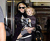Slide Picture of Ashlee Simpson and Bronx in LA