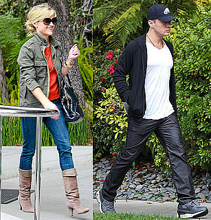 Pictures of Reese Witherspoon and Ryan Phillippe Arriving at Deacon's Birthday Party