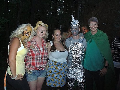 "my co-counselors and i were best group at camp nah-jee wah's banquet-wizard of ""naj"""