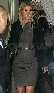 Pictures of Gwyneth Paltrow at Il Cielo in LA