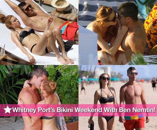 Whitney Port's Loved-Up Bikini Weekend With Boyfriend Ben Nemtin!