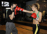 AnnaLynne McCord Boxing in LA