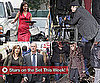 Pictures of Angelina Jolie, Brad Pitt, Mariska Hargitay and More on Set