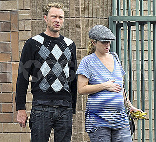 Pictures of Pregnant Christina Applegate in LA With Martyn LeNoble