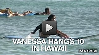 Video: Vanessa Hudgens Surfs