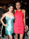 Bold and bright: Anna Kendrick and Diane Kruger.