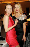 Diane Kruger and Kate Hudson, totally candid.