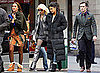 Pictures of Leighton Meester, Jessica Szohr, Chace Crawford, Ed Westwick, Penn Badgley and Taylor Momsen Filming  Gossip Girl