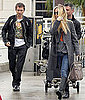 Pictures of Kate Hudson Dropping Matthew Bellamy Off at the Airport in LA