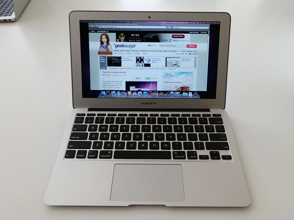 Photos of the New MacBook Air