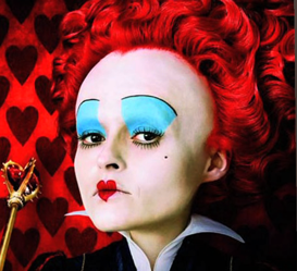 Halloween Makeup Tutorial: Red Queen From Alice in Wonderland