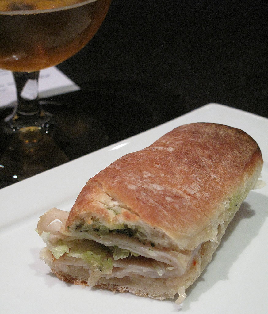 Pesto Turkey Bullet