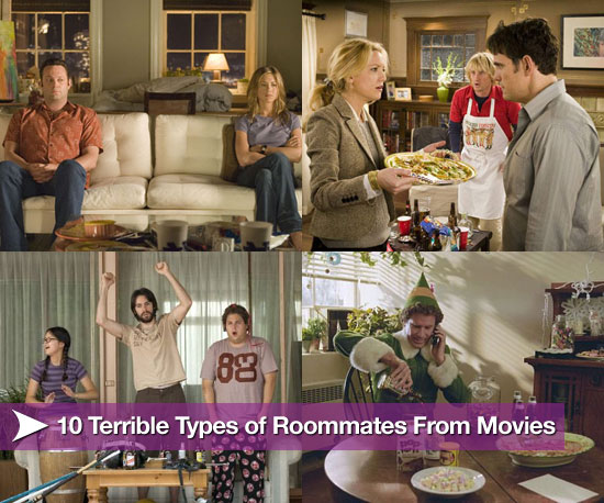 Terrible Types of Roommates From Movies