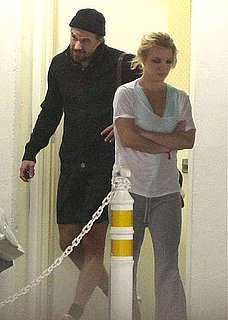 Pictures of Britney Spears and Jason Trawick at the Gym