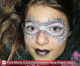 5 Easy New Halloween Face Paint Designs