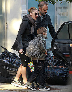 Pictures of Kate Winslet With Ex Sam Mendes and Son Joe Mendes in NYC