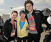 Pictures of Celebrities Jennifer Love Hewitt, Deena Kastor, James Marsden in Los Angeles Rock &#039;n&#039; Roll Half Marathon