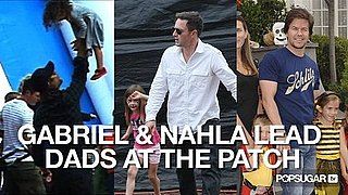 Video of Gabriel Aubry and Nahla Aubry at the Pumpkin Patch 2010-10-25 11:18:56