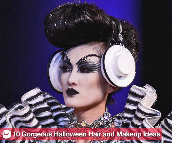 10 Gorgeous Halloween Hair and Makeup Ideas From China Fashion Week