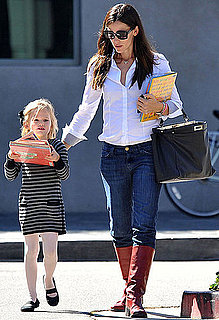 Pictures of Jennifer Garner and Violet