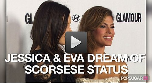 Video of Jessica Biel and Eva Mendes Directing For Glamour's Reel Moments