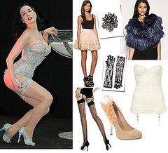 Halloween Costume Idea: Dita Von Teese