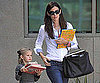 Slide Picture of Jennifer Garner With Violet at Library