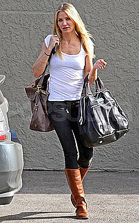 Pictures of Cameron Diaz Leaving Her LA Gym