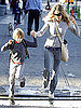 Pictures of Sarah Jessica Parker and James Wilkie Making a Splash in NYC on His 8th Birthday