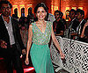 Slide Picture of Freida Pinto at a Premiere in Qatar